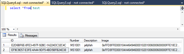 how to create table variables in sql server 2012